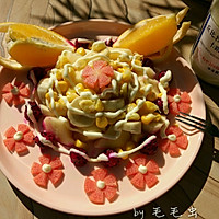 果蔬沙拉#丘比轻食厨艺大赛#