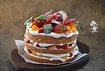 水果奶油蛋糕的做法