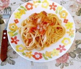 瘦身番茄pasta的做法
