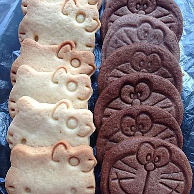 卡通饼干(黄油、可可口味)