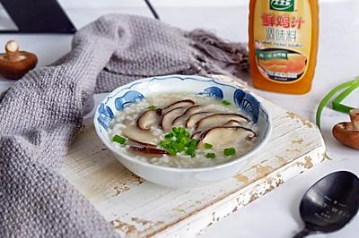 鲜汁香菇大米粥