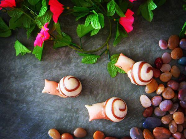 花样面食之蜗牛馒头的做法