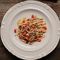 火腿金针菇#德国Miji爱心菜#的做法图解12