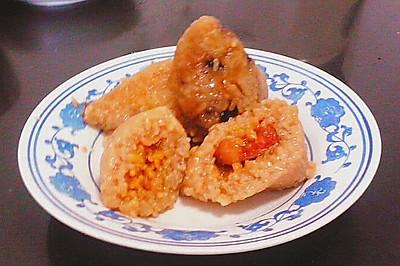 猪肉粽子,红豆粽子