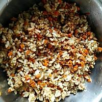 糙米菜蔬烧麦的做法图解4