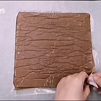 不甜腻的蛋糕/可可戚风奥利奥蛋糕的做法图解18