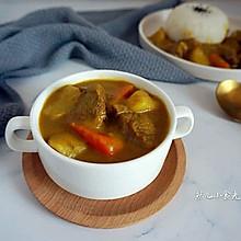 咖喱土豆炖牛腱