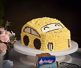 汽车生日蛋糕||Car birthday cake的做法