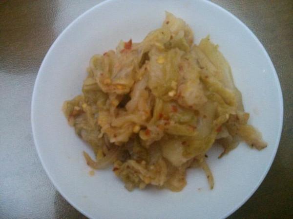 简易版韩式泡菜的做法