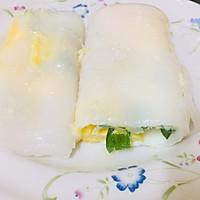 广式蒸肠粉(鸡蛋肠,鲜虾肠和牛肉肠)的做法图解7
