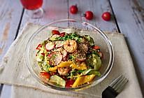 #花10分钟,做一道菜!#低卡沙拉汁拌时蔬的做法