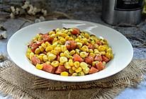 玉米火腿丁的做法