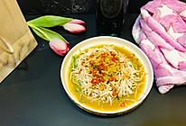 清爽凉菜:凉拌麻酱鸡丝的做法