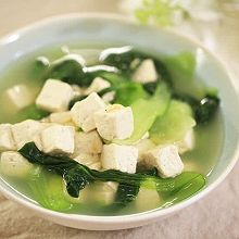 青菜豆腐汤-迷迭香
