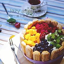 提拉米苏水果蛋糕