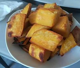 蜜汁烤地瓜的做法