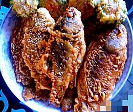 油 炸小鱼的做法