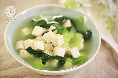 青菜豆腐湯-迷迭香