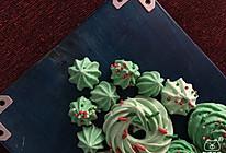 梦幻圣诞风蛋白糖的做法