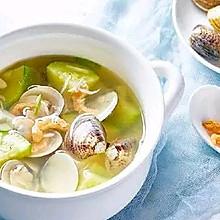 黄蛤蔬菜汤