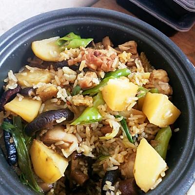 黄焖鸡米饭(电饭煲版)
