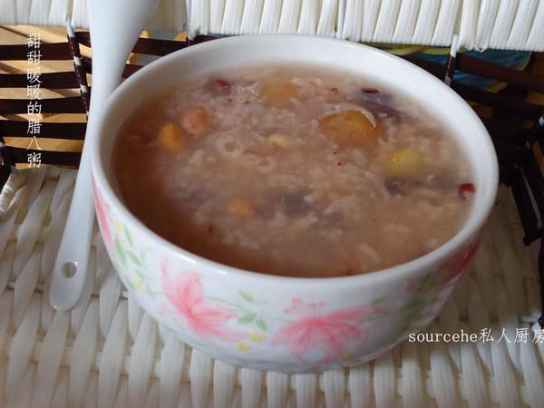 甜甜暖暖的腊八粥的做法