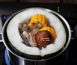 夏季解暑火锅,冬瓜盅的做法