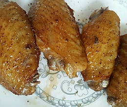 椒盐鸡翅(炸鸡翅)的做法