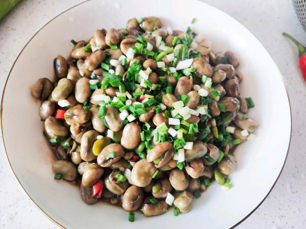 葱香胡豆的做法