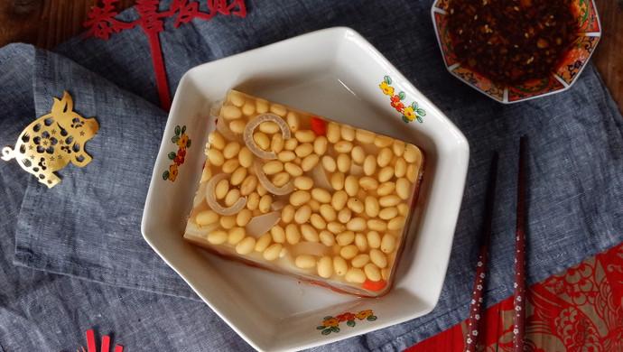 黄豆肉皮冻#新年开运菜,好事自然来#