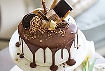 巧克力淋面蛋糕-祝自己生日快乐的做法