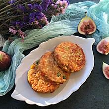 #童年不同样,美食有花样#鸡胸肉蔬菜燕麦饼