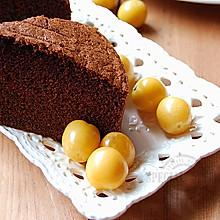 可可海绵蛋糕