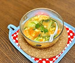 阴天必备!热乎乎疙瘩汤的做法