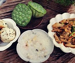 #营养小食光#营养早午餐~海鲜粥的做法