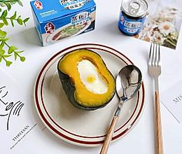#我们约饭吧#贝贝南瓜蒸蛋 简单快手的营养早餐的做法