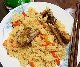新疆羊排手抓饭的做法