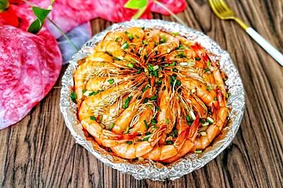 金针菇粉丝虾煲