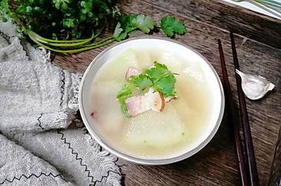 培根冬瓜汤