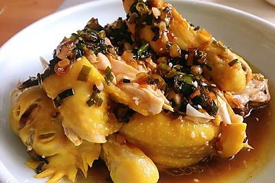 厨房小白也能做的葱油鸡