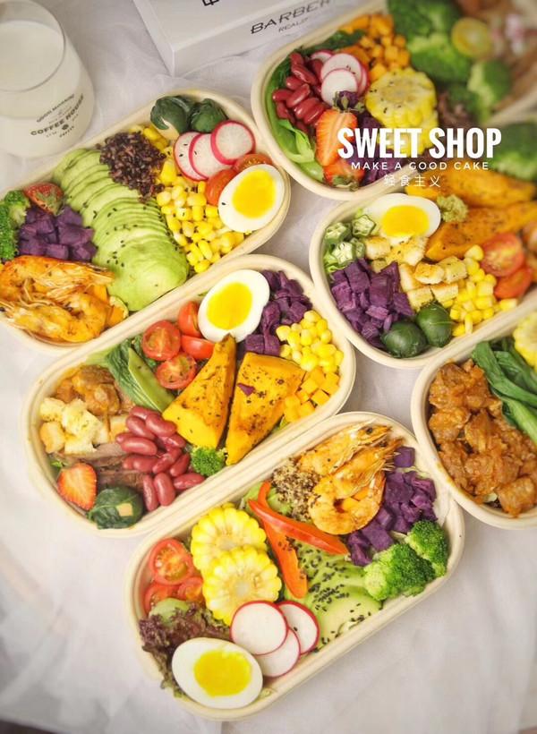轻食沙拉减肥餐的做法