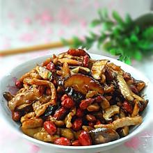 麻辣香菇肉丝