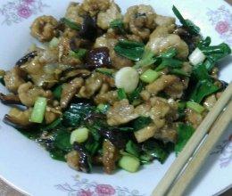 香菇炒瘦肉的做法