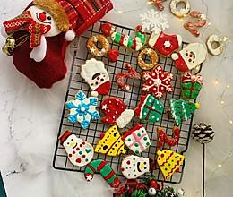 圣诞节糖霜饼干的做法