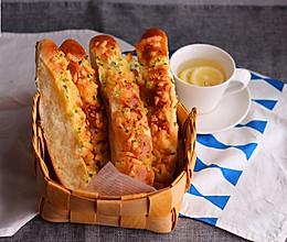 香葱排包#美的烤箱食谱#的做法
