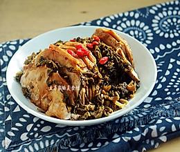 #夏天夜宵High起来#荔浦芋头雪菜扣肉的做法