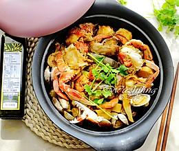 秘制焖汁海鲜锅的做法