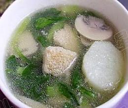 鲜蔬蘑菇汤的做法
