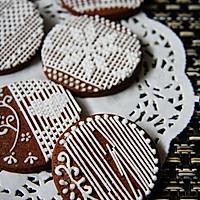 【手绘蕾丝饼干】可爱的你。可曾有一个美丽的梦的做法图解19