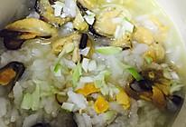 淡菜粥的做法